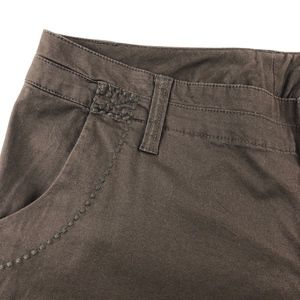 Lane Bryant Pants - NEW Lane Bryant Brown Capri Pants Sz 16